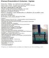 Prensa Pneumática 2 Colunas - Vgmec
