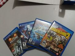 Ps Vita + 5 Jogos