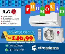 Ar Condicionado Lg Smart Inverter 9.000 Btus Quente/frio